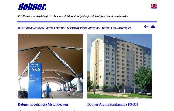 Vorschau von www.dobner.net, Dobner Building Systems GmbH