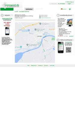 Vorschau der mobilen Webseite www.immopool.de, HN Baupartner
