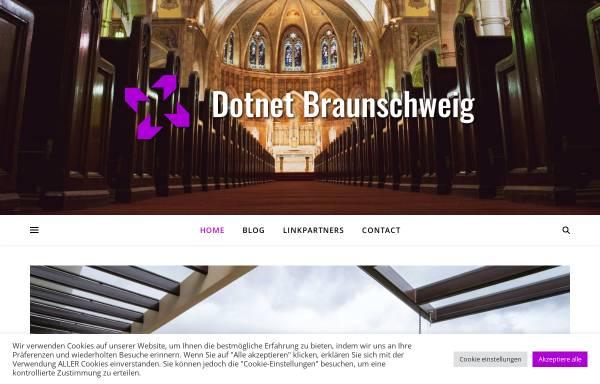 Vorschau von www.dotnet-braunschweig.de, .NET Developer Group Braunschweig