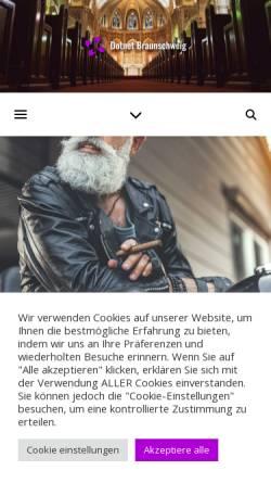 Vorschau der mobilen Webseite www.dotnet-braunschweig.de, .NET Developer Group Braunschweig
