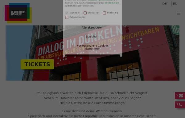 Vorschau von www.dialog-im-dunkeln.de, Dialog im Dunkeln