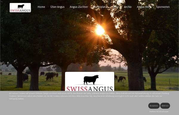 Vorschau von www.swissangus.ch, Vereinigung der Schweizer Anguszüchter