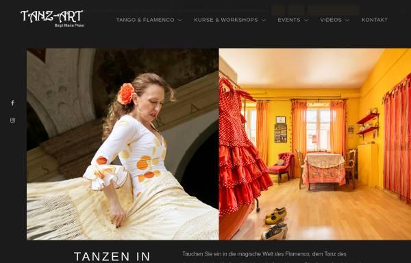 Vorschau von www.flamenco-landshut.de, Flamenco-Studio Birgit Maria Pleier