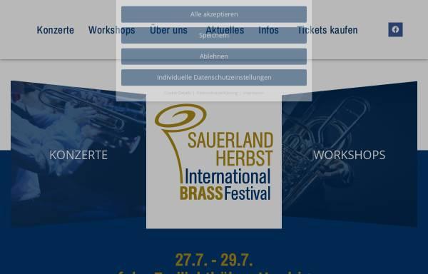 Vorschau von www.sauerland-herbst.de, Sauerland-Herbst
