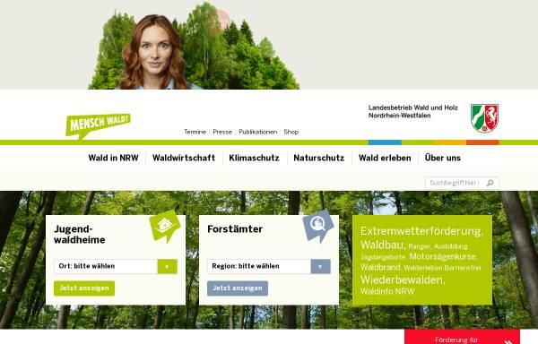 Vorschau von www.wald-und-holz.nrw.de, Landesbetrieb Wald und Holz Nordrhein-Westfalen