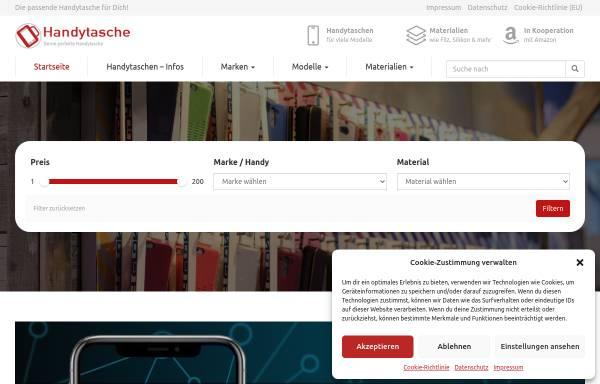 Vorschau von www.handytasche.net, Y-Com Kommunikationssysteme