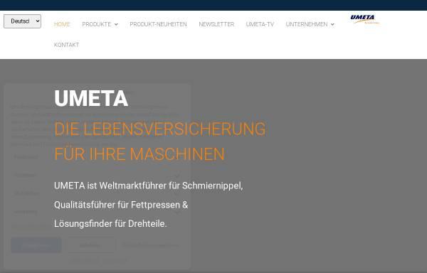 Vorschau von www.umeta.com, Umeta Herrman Ulrichskötter Metallwarenfabrik GmbH & Co.