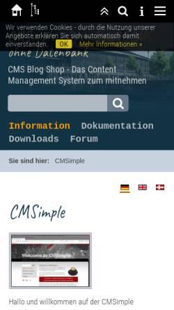 Vorschau der mobilen Webseite www.schlauchboote-spezial.de, Schlauchboote, das Kofferraumprogramm, Gert Ebersbach