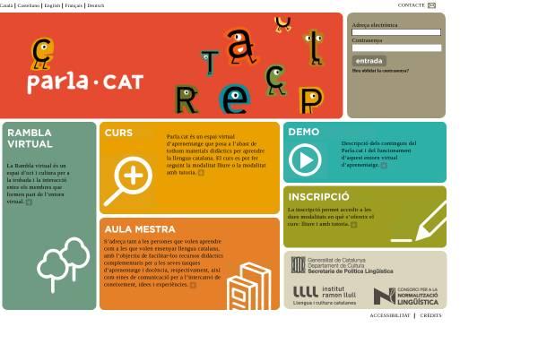 Vorschau von www.parla.cat, Parla.cat