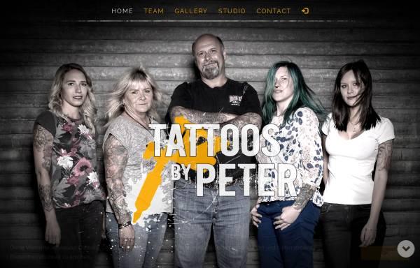 Vorschau von www.tattoos-by-peter.de, Tatoos by Peter, Peter Tiegs