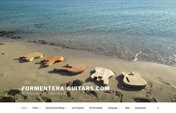 Vorschau von www.formentera-guitars.com, Formentera Guitars, Ekkehard Hoffmann