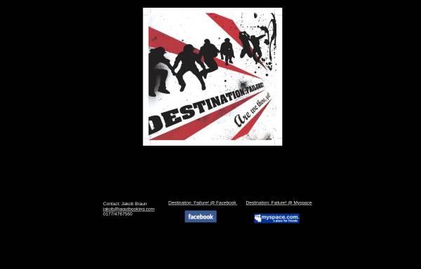Vorschau von www.destination-failure.de, Destination Failure