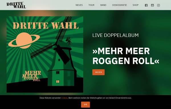 Vorschau von www.dritte-wahl.de, Dritte Wahl