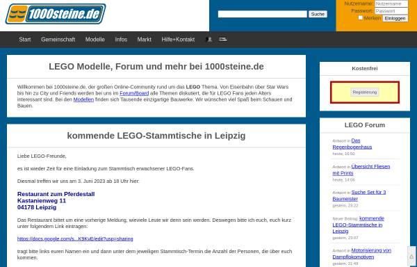1000steine.de: Lego, Spielzeug 1000steine.de