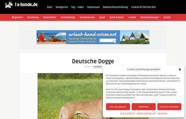 Vorschau von www.doggen-nothilfe.de, Doggen-Nothilfe e.V.
