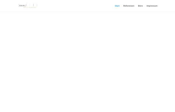 Vorschau von www.rahl.de, Siegmund Rahl, Architekturbüro