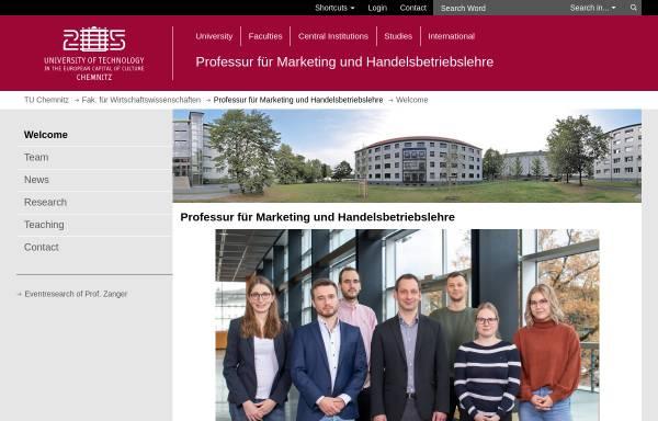 Vorschau von www.tu-chemnitz.de, Technische Universität Chemnitz
