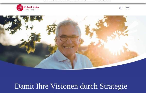 Vorschau von www.rolandschoen.de, Roland Schoen + Kollegen - Ganzheitliche Beratung zur Entwicklung der Einzigartigkeit des Unternehmens
