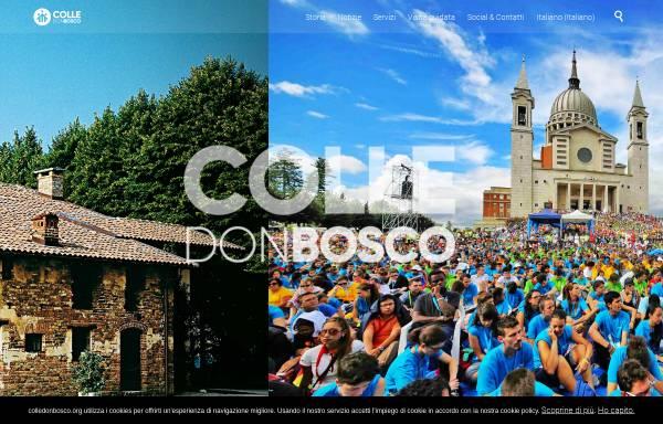 Vorschau von www.colledonbosco.it, Colle Don Bosco