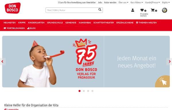 Vorschau von www.donbosco-fachbuchhandlung.de, Don Bosco Fachbuchhandlung und Don Bosco Verlag
