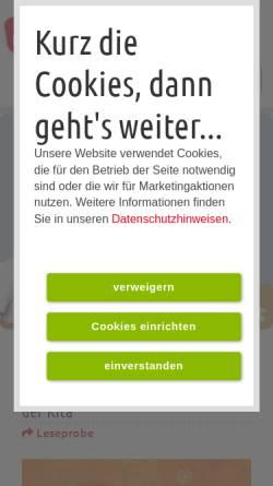 Vorschau der mobilen Webseite www.donbosco-fachbuchhandlung.de, Don Bosco Fachbuchhandlung und Don Bosco Verlag
