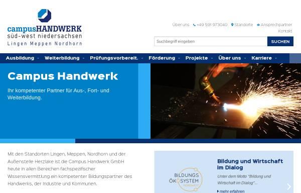Vorschau von www.btz-handwerk.de, BTZ Berufsbildungs- und Technologiezentrum des Handwerks GmbH