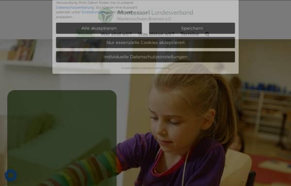 Vorschau von www.montessori-niedersachsen.de, Montessori-Landesverband Niedersachsen e.V.