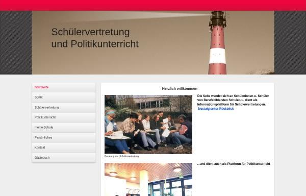 Vorschau von www.goepfert-sv.de, Schülervertretungen an berufsbildenden Schulen