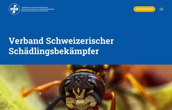 Vorschau von www.fsd-vss.ch, Verband Schweizerischer Schädlingsbekämpfer
