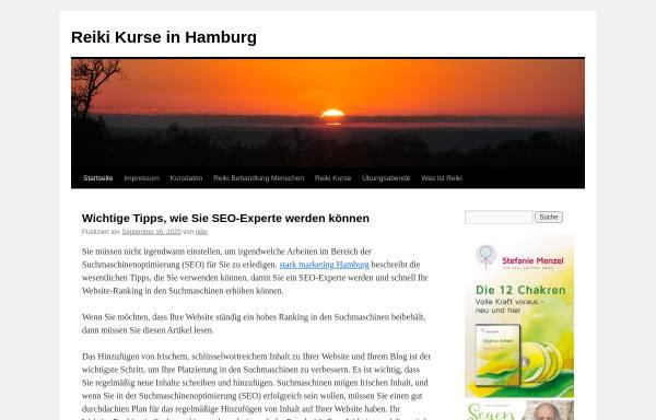 Vorschau von www.reiki-kurse-hamburg.de, Stefanie Rappat