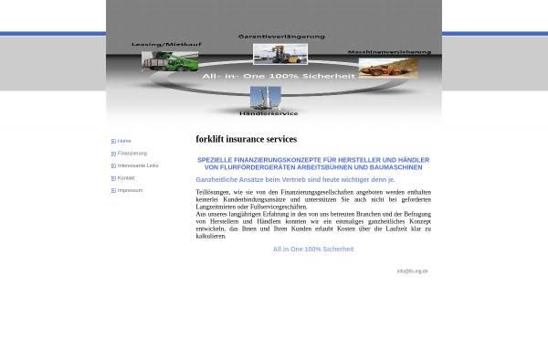 Vorschau von www.fis-mg.de, Forklift Insurance Services, Inh. Dipl.-Volkswirt Michael Hoff