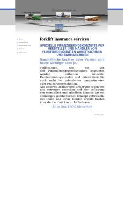 Vorschau der mobilen Webseite www.fis-mg.de, Forklift Insurance Services, Inh. Dipl.-Volkswirt Michael Hoff