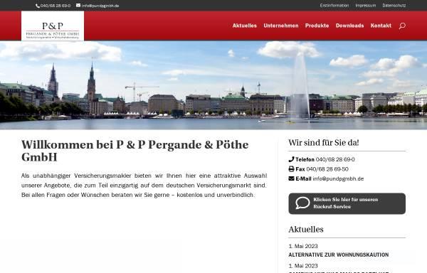 Vorschau von www.pundpgmbh.de, Pergande & Pöthe GmbH