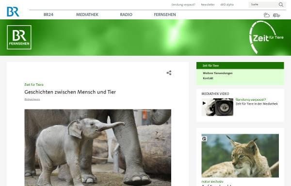 Vorschau von www.br.de, Zeit für Tiere