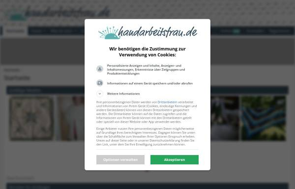 Vorschau von www.handarbeitsfrau.de, Handarbeitsfrau.de
