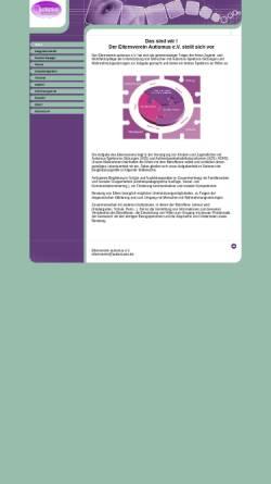 Vorschau der mobilen Webseite www.autismusev.de, Elternverein autismus e.V.