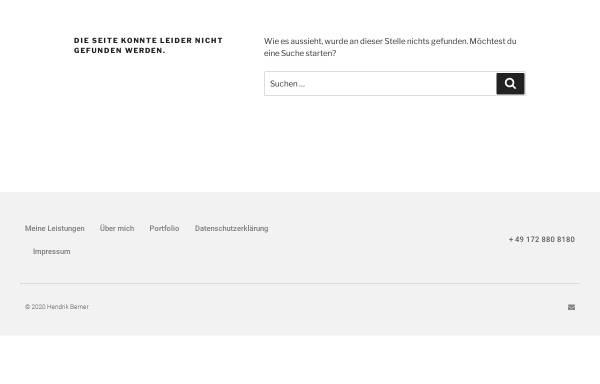 Vorschau von www.berner-consulting.de, Berner Consulting
