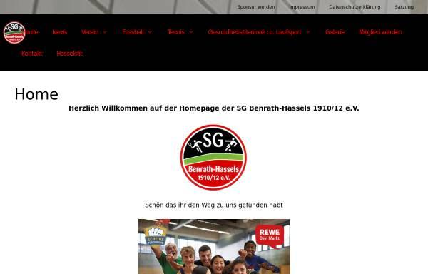 Vorschau von www.benrath-hassels.de, Benrath - Hassels 1910 / 12 e.V.