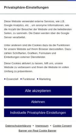 Vorschau der mobilen Webseite www.hellerhofer-sportverein.de, Hellerhofer Sportverein