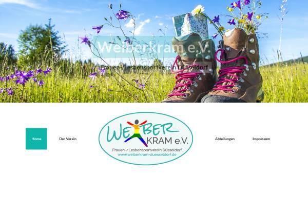 Vorschau von www.weiberkram-duesseldorf.de, Weiberkram e.V.