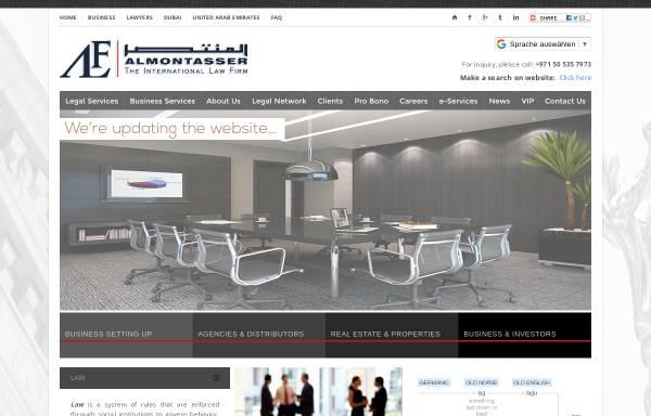 Vorschau von www.almontasser.com, Dr. jur. Almontasser Fetih