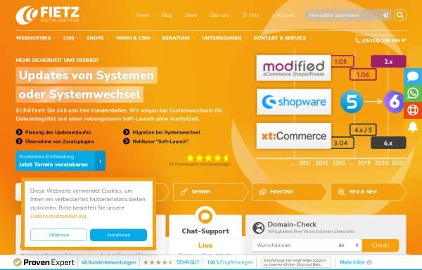 Vorschau von www.fietz-medien.de, FIETZ.medien
