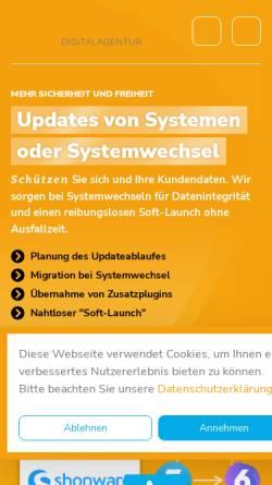 Vorschau der mobilen Webseite www.fietz-medien.de, FIETZ.medien