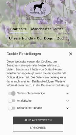 Vorschau der mobilen Webseite www.lavendelsteig.de, Vom Lavendelsteig