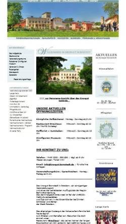 Vorschau der mobilen Webseite www.krongut-bornstedt.de, Krongut Bornstedt