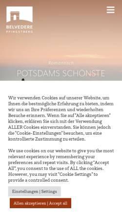 Vorschau der mobilen Webseite www.pfingstberg.de, Pfingstberg