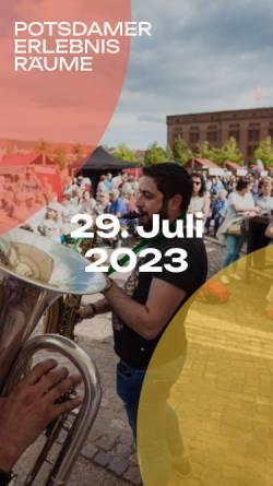 Vorschau der mobilen Webseite www.potsdam-mittendrin.de, Potsdam-Mittendrin.de