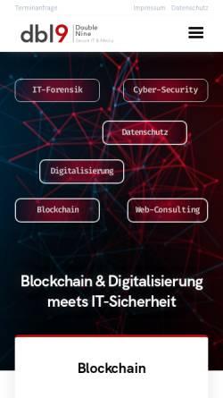 Vorschau der mobilen Webseite www.inexweb.de, inexweb GmbH