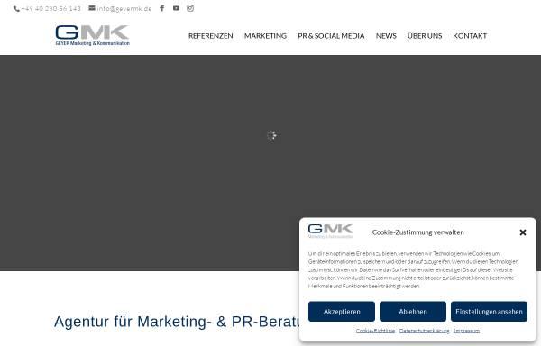 Vorschau von www.geyermk.de, Geyer M&K