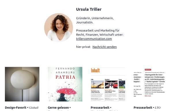 Vorschau von www.triller.com, Triller. Communication Consultants